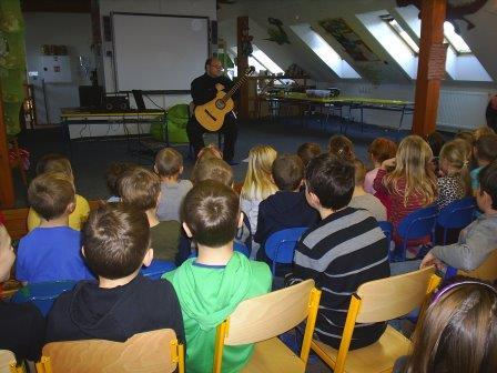 ZŠ: Kytarový koncert 8. 1. 2016