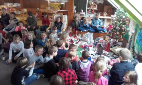 ZŠ: Vánoční nadílka - prosinec 2018